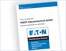 Historie 2012 EATON Distributionspartner VIGOT
